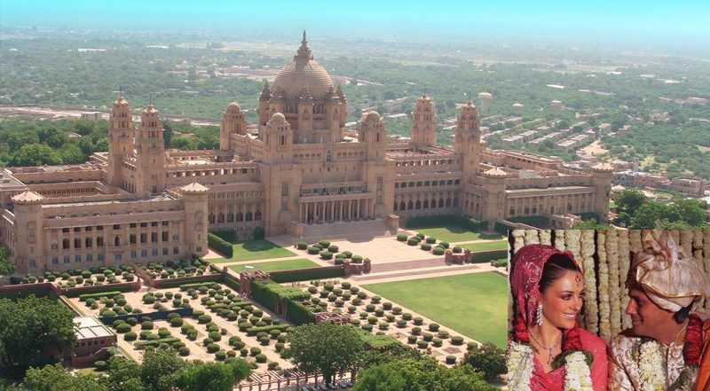 celebrities wedding in rajasthan