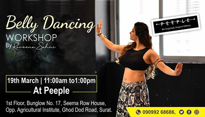 Belly Dance Workshop by Peeple Community