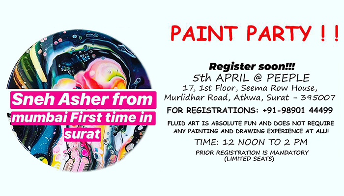 Paint Party by Peeple Community