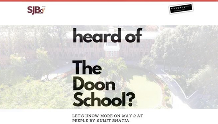 The Doon school by Peeple Communitys
