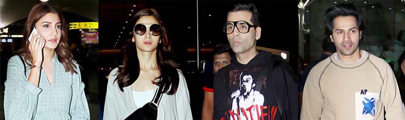 Bollywood Celebrities who have consistently given us top-notch airport style looks.
